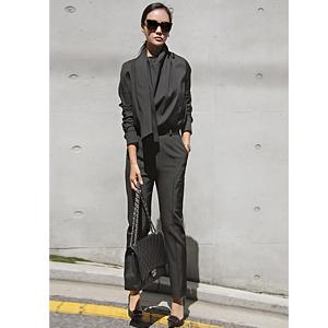 Black Black Slim Pants <font color=9A9A9A><br> Black label <br> It's just too bad.</font>