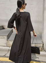 Cordbag wrinkle Jersey Dress